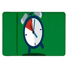 Alarm Clock Weker Time Red Blue Green Samsung Galaxy Tab 8 9  P7300 Flip Case by Alisyart