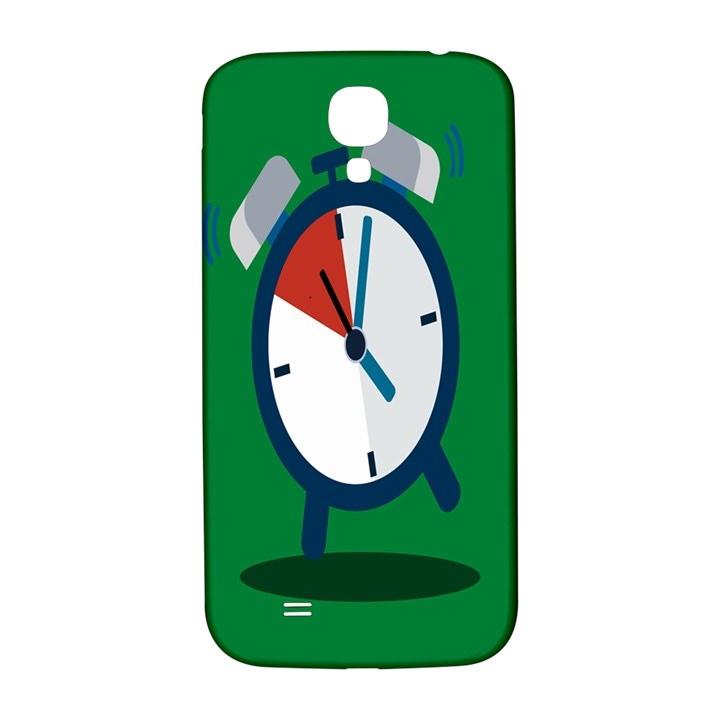 Alarm Clock Weker Time Red Blue Green Samsung Galaxy S4 I9500/I9505  Hardshell Back Case