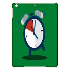 Alarm Clock Weker Time Red Blue Green Ipad Air Hardshell Cases by Alisyart