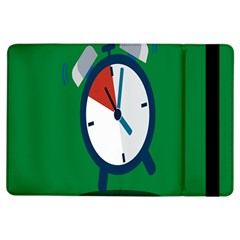 Alarm Clock Weker Time Red Blue Green Ipad Air Flip