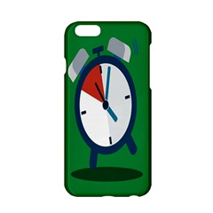 Alarm Clock Weker Time Red Blue Green Apple Iphone 6/6s Hardshell Case