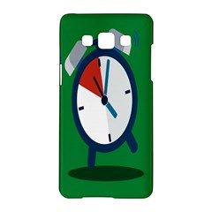 Alarm Clock Weker Time Red Blue Green Samsung Galaxy A5 Hardshell Case  by Alisyart