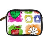 A Set Of Watercolour Icons Digital Camera Cases Front