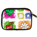 A Set Of Watercolour Icons Digital Camera Cases Back