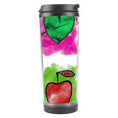 A Set Of Watercolour Icons Travel Tumbler