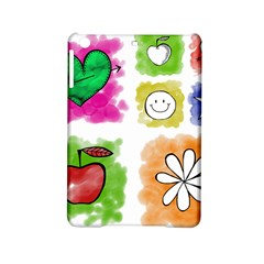 A Set Of Watercolour Icons iPad Mini 2 Hardshell Cases