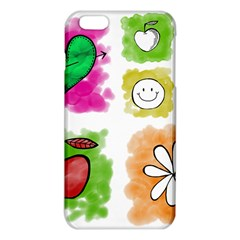 A Set Of Watercolour Icons iPhone 6 Plus/6S Plus TPU Case
