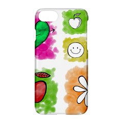 A Set Of Watercolour Icons Apple iPhone 7 Hardshell Case