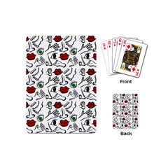 Body Parts Playing Cards (mini)  by Valentinaart