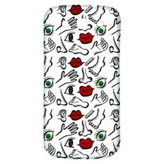 Body Parts Samsung Galaxy S3 S Iii Classic Hardshell Back Case by Valentinaart