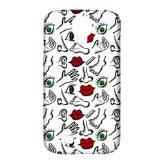 Body Parts Samsung Galaxy S4 Classic Hardshell Case (pc+silicone) by Valentinaart