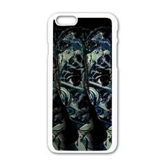 Wild Child Apple Iphone 6/6s White Enamel Case by Valentinaart