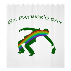 St  Patricks Shower Curtain 66  X 72  (large)  by Valentinaart