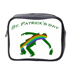 St  Patricks Mini Toiletries Bag 2 Side by Valentinaart