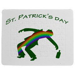 St  Patricks Jigsaw Puzzle Photo Stand (rectangular) by Valentinaart