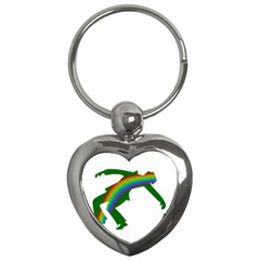 St  Patricks Key Chains (heart)  by Valentinaart