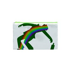 St  Patricks Cosmetic Bag (xs) by Valentinaart