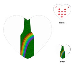 St  Patricks Playing Cards (heart)  by Valentinaart