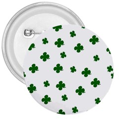 St  Patrick s Clover Pattern 3  Buttons by Valentinaart