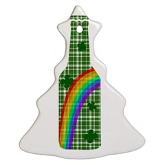 St  Patricks Day   Bottle Christmas Tree Ornament (two Sides) by Valentinaart