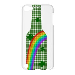 St  Patricks Day   Bottle Apple Ipod Touch 5 Hardshell Case by Valentinaart
