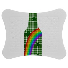 St  Patricks Day   Bottle Jigsaw Puzzle Photo Stand (bow) by Valentinaart