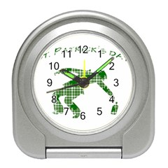 St  Patrick s Day Travel Alarm Clocks by Valentinaart