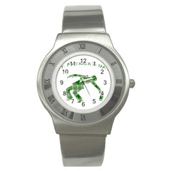 St  Patrick s Day Stainless Steel Watch