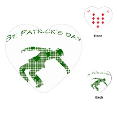 St  Patrick s Day Playing Cards (heart)