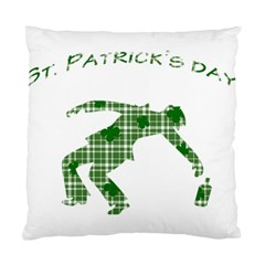 St  Patrick s Day Standard Cushion Case (one Side) by Valentinaart