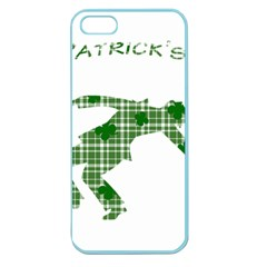 St  Patrick s Day Apple Seamless Iphone 5 Case (color) by Valentinaart