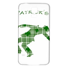 St  Patrick s Day Samsung Galaxy S5 Back Case (white) by Valentinaart