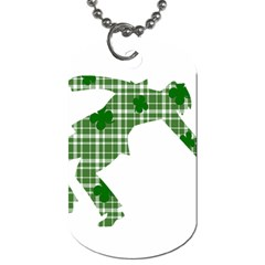 St  Patrick s Day Dog Tag (two Sides) by Valentinaart