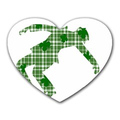 St  Patrick s Day Heart Mousepads