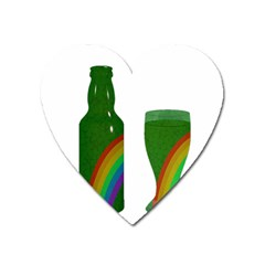 St  Patrick s Day Heart Magnet by Valentinaart