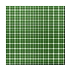 St  Patricks Day Plaid Pattern Face Towel
