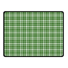 St  Patricks Day Plaid Pattern Fleece Blanket (small) by Valentinaart