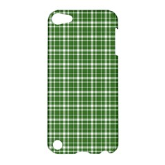 St  Patricks Day Plaid Pattern Apple Ipod Touch 5 Hardshell Case by Valentinaart