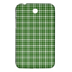 St  Patricks Day Plaid Pattern Samsung Galaxy Tab 3 (7 ) P3200 Hardshell Case  by Valentinaart
