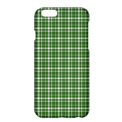 St  Patricks Day Plaid Pattern Apple Iphone 6 Plus/6s Plus Hardshell Case by Valentinaart