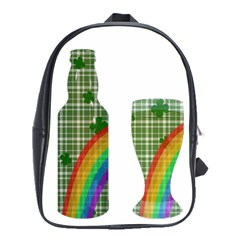 St  Patrick s Day School Bags(large)  by Valentinaart