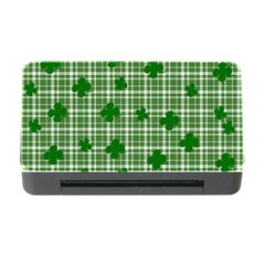 St  Patrick s Day Pattern Memory Card Reader With Cf by Valentinaart