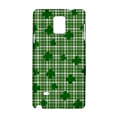 St  Patrick s Day Pattern Samsung Galaxy Note 4 Hardshell Case by Valentinaart