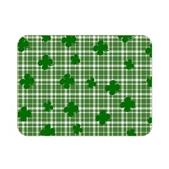 St  Patrick s Day Pattern Double Sided Flano Blanket (mini)  by Valentinaart