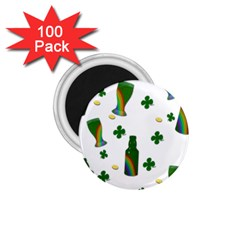 St  Patricks Day  1 75  Magnets (100 Pack)  by Valentinaart