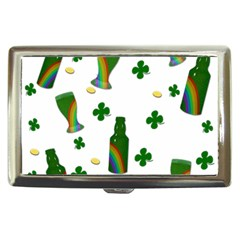 St  Patricks Day  Cigarette Money Cases by Valentinaart