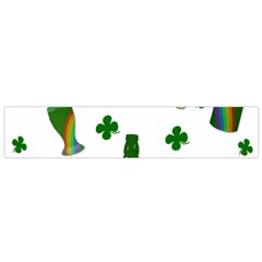 St  Patricks Day  Flano Scarf (small) by Valentinaart