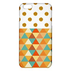 Golden Dots And Triangles Patern Iphone 6 Plus/6s Plus Tpu Case by TastefulDesigns