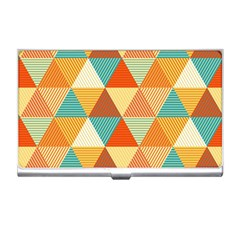 Triangles Pattern  Business Card Holders by TastefulDesigns