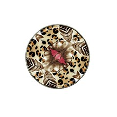 Animal Tissue And Flowers Hat Clip Ball Marker (4 Pack) by Amaryn4rt